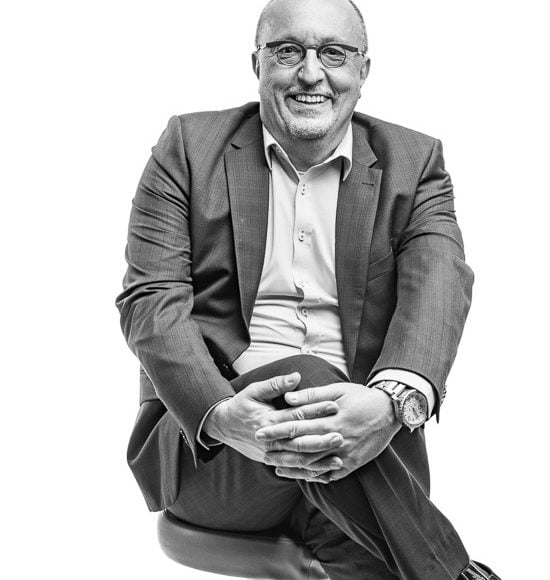 corporate portrait of senior executive
