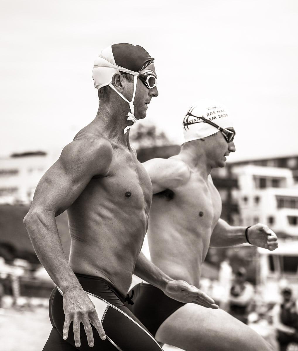 Bondi surf competitor